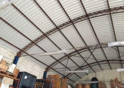 Nuova copertura capannone - foto 1